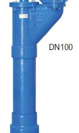 Hidrant subteran complet echipat DN 100 PN 16