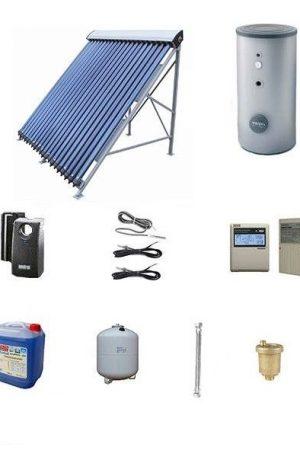 Pachete solare cu tuburi vidate